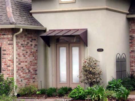 residential door awnings residential metal awnings la custom awnings