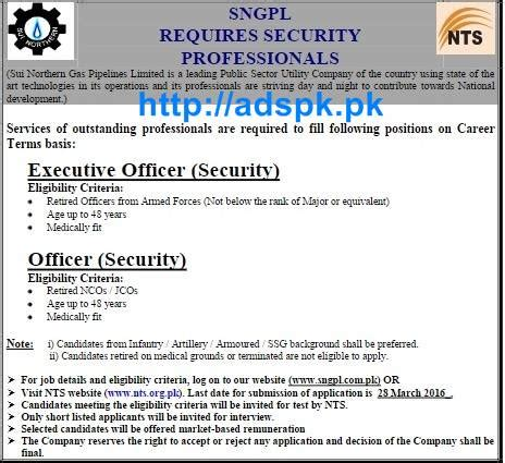 nts of sui northern gas pipelines limited sngpl syllabus paper content 2016