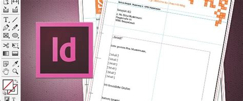 In Design Vorlage Briefbogen In 6 Steps Einen Briefbogen Im Indesign Erstellen 187 Saxoprint