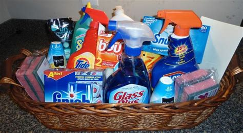 best house gifts diy cleaning supply housewarming gift basket gift ideas