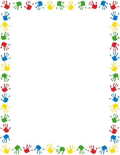 Coloring Pages Elegant Colorful Page Borders Border 9 Colorful Page Borders Free