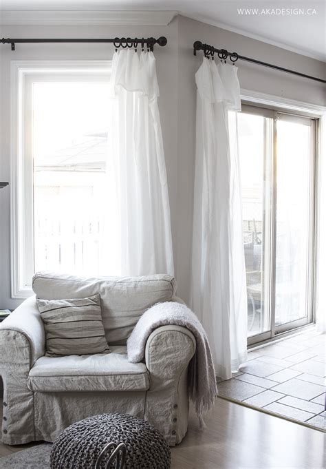 Inexpensive Curtains   Ikea Curtain Hack