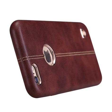 Apple Iphone 6iphone 6s Englon Leather Cover Uniq Nillkin nillkin englon series high quality pc leather for iphone 6 6s brown jakartanotebook