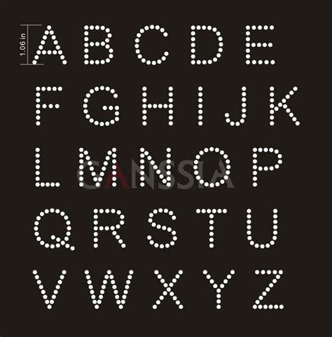 pcslot uppercase letters heat transfer rhinestone