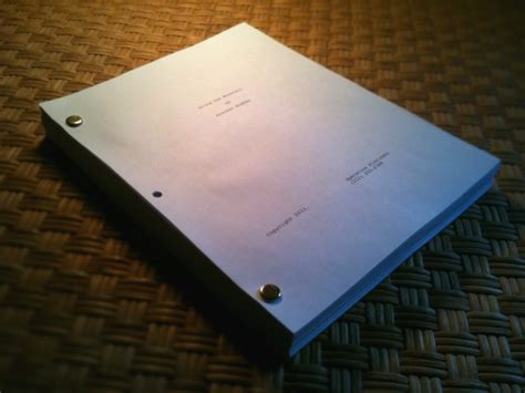 metal     screenplays called