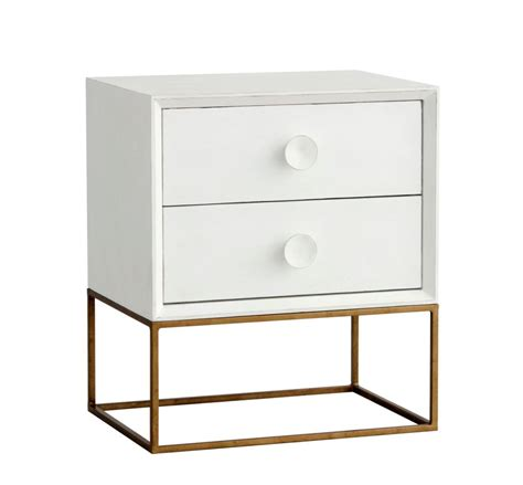 White Nightstands 20 Minimalist And Modern Nightstands White Designs