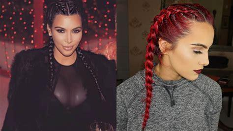 kim kardashian game kollections not working kim kardashian inspired dutch braids youtube