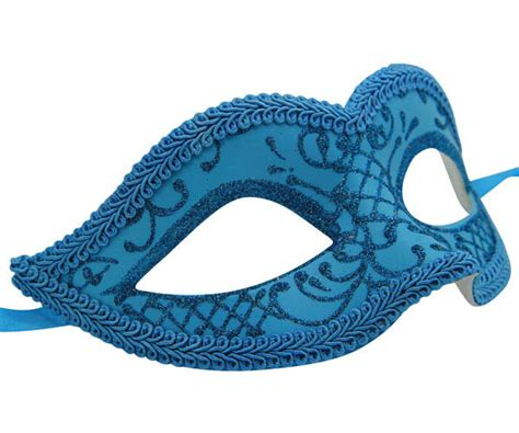 light blue masquerade masks light blue venetian mask