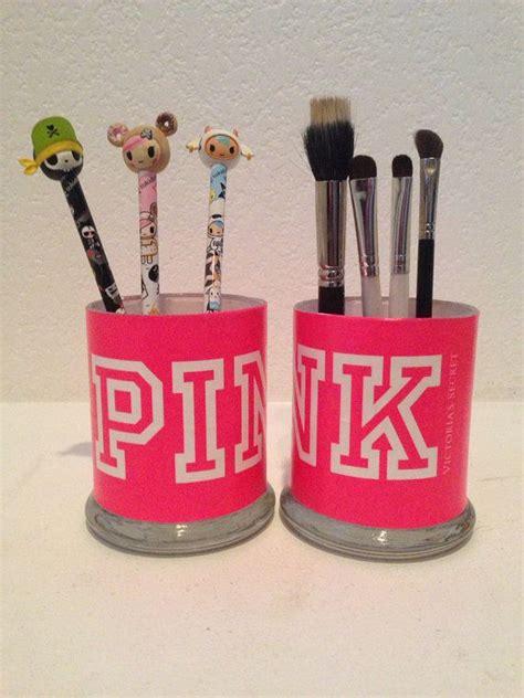 Brush Holder Pink s secret pink inspired makeup brush holders