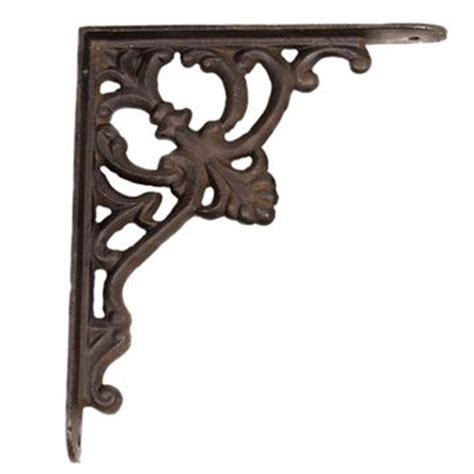 Rustic Wood Hanger Versailles wrought iron shelf brackets cape town new gardman
