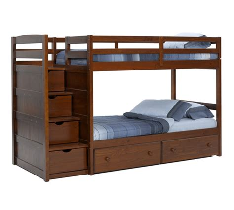 solid wood bunk bed solid wood bunk beds with staircase loccie better homes