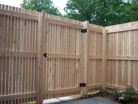 simple ways to make wooden fence gates fence ideas