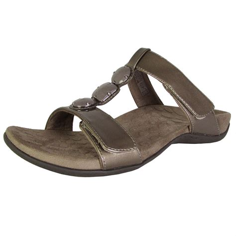 sandals womens vionic with orthaheel technology womens strappy sandals ebay