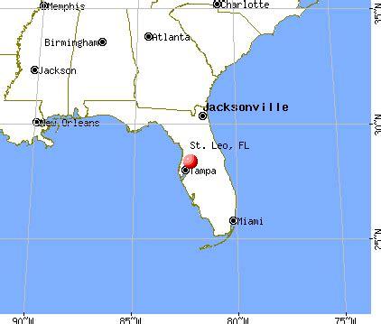 st leo florida fl 33525 profile population maps