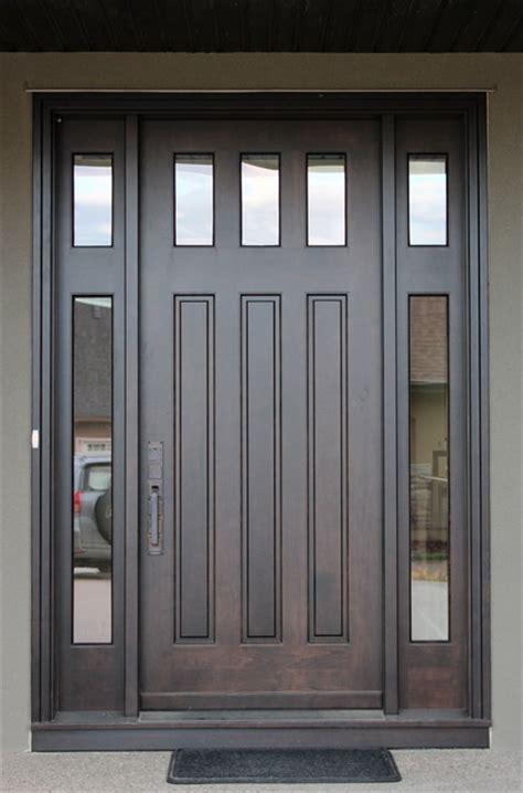 Solid Wood Doors Craftsman Front Doors Calgary By Front Doors Calgary
