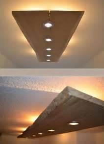 how to make a ceiling light fixture die 25 besten ideen zu flurbeleuchtung auf led