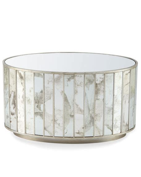 Oval Mirrored Coffee Table Roma Oval Mirrored Coffee Table