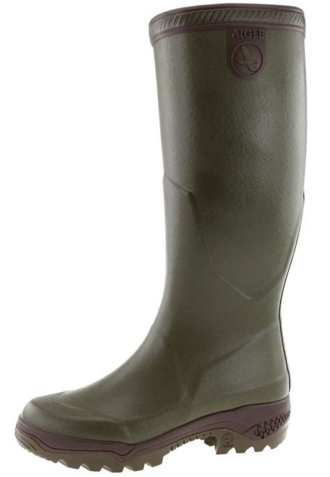 aigle boots for aigle parcours 2 khaki rubber boots the rubber boot