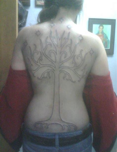 white tree of gondor tattoo ideas pictures by curtis