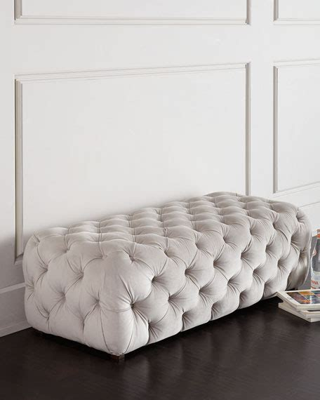how to make a tufted bench grace tufted bench