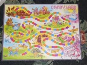 candyland board template digital illustation september 2010