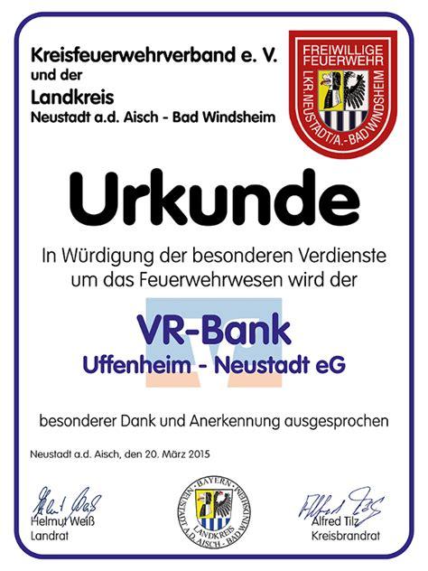 vr bank bad windsheim kreisfeuerwehrverband neustadt a d aisch bad windsheim