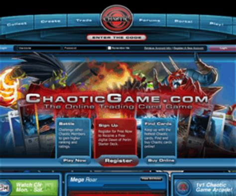 chaoticgamecom chaotic trading card game tcg
