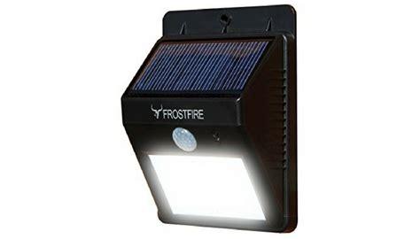 Frostfire Bright Led Wireless Solar Powered Motion Sensor Light The 5 Best Motion Sensor Lights 2017 Top Picks