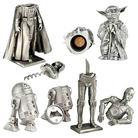 pewter barware star wars pewter barware set character usa star wars