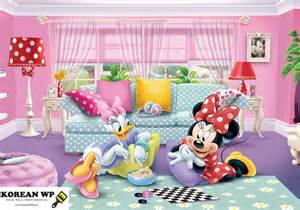 Minnie Mouse Wall Murals disney minnie mouse and daisy mural for kids amp girl s room