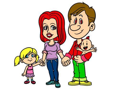 imagenes de la familia en dibujos dibujos de la familia feliz imagui