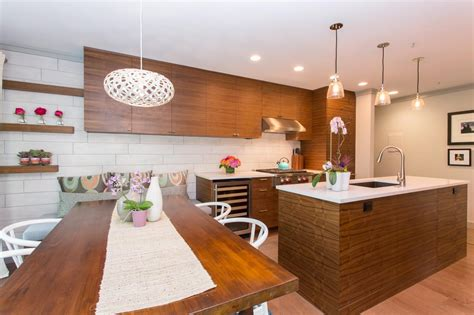 Kitchen Island Table Designs Interior Unique Pendant Lighting With Wood Kitchen Table