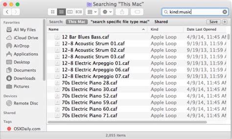 format file osx cara cari dan temukan jenis format file tertentu di mac