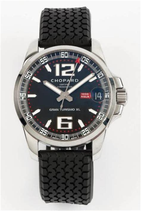 Ventes aux enchères Paris CHOPARD MILLE MIGLIA GT XL VERS 2000 Grande montre bracele