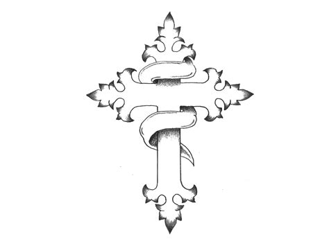 cross tattoo sketches cross drawings design www pixshark