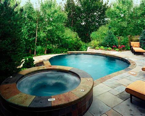 pool spas pool design ideas pictures