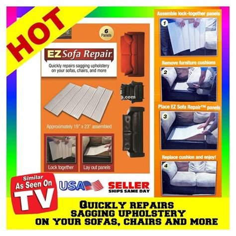 as seen on tv couch fix ez sofa repair new easy