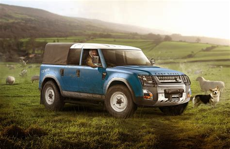 land rover defender 2018 could the new land rover defender look like this carwow