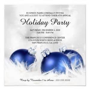 corporate christmas and holiday party invitations holiday parties blue and backgrounds