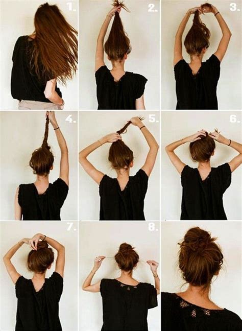 tutorial rambut casual 17 quick and easy diy hairstyle tutorials easy diy