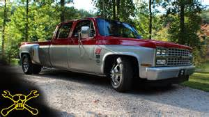 lowered chevy dually hughwear apparel co