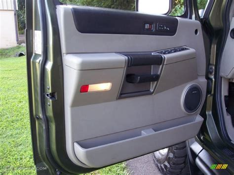 Hummer H2 Interior Door Panel 2004 Hummer H2 Suv Wheat Door Panel Photo 53059658