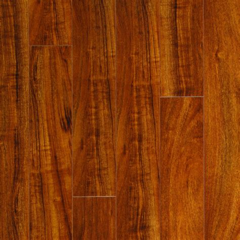 shop pergo max high gloss mahogany wood planks sle moneta at lowes com