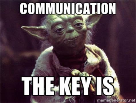 Communication Meme - straight talk on professional communication for