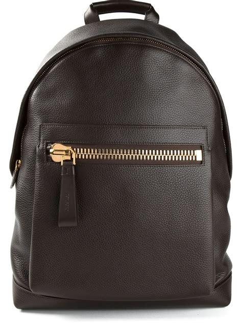 lyst tom ford buckley backpack  brown  men