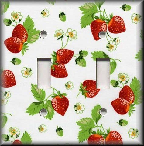 Strawberry Home Decor by 25 Beste Idee 235 N Over Strawberry Kitchen Op Pinterest