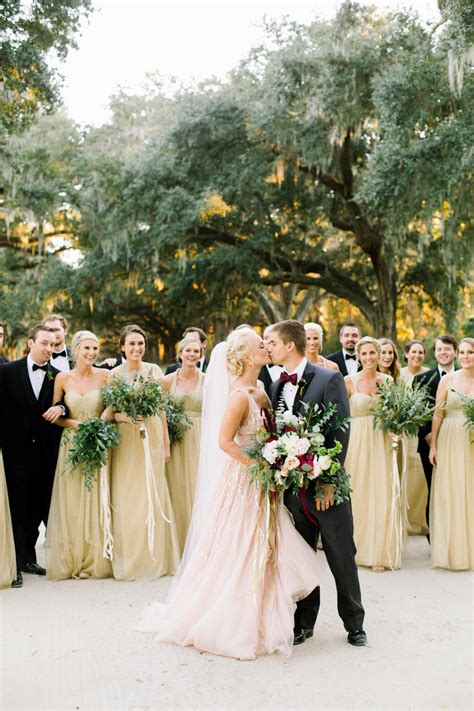 a traditional breakdown of who pays for what in a wedding southern living