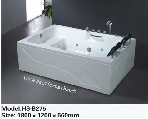 bathtubs whirlpool 2 person deluxe computerized whirlpool jetted bathtubs b275 left or right side