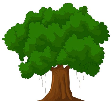 cartoon png cartoon green tree png clipart best web clipart