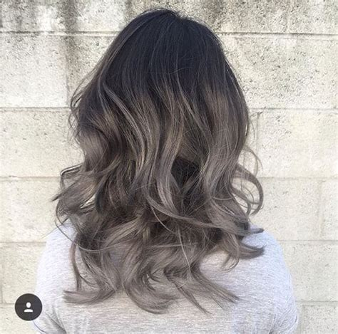 grey hair on mid length hair 25 best hairstyle ideas for brown hair with highlights